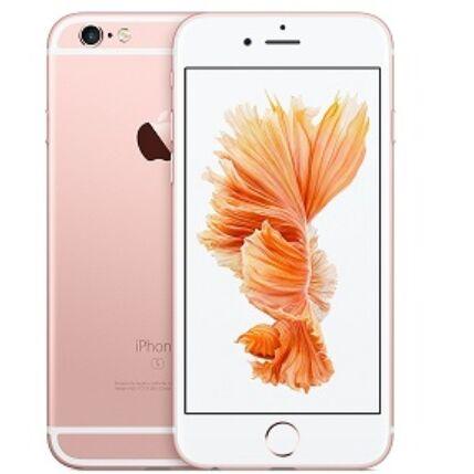 Mobiltelefon, Apple iPhone 6S 32GB  Kártyafüggetlen, 1 év garancia, rose gold