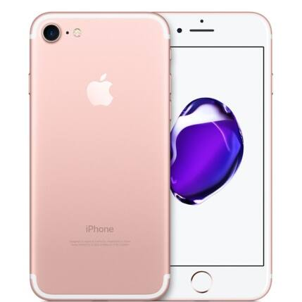 Mobiltelefon, Apple iPhone 7 128GB használt, kártyafüggetlen, 1 hónap garancia, rose gold