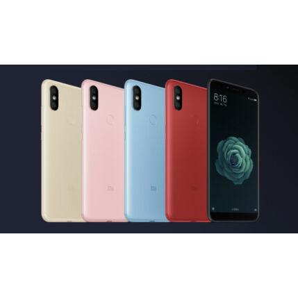 Mobiltelefon, Xiaomi A2 (MI 6X) Dual Sim 32GB Kártyafüggetlen, 6 hónap garancia, fekete