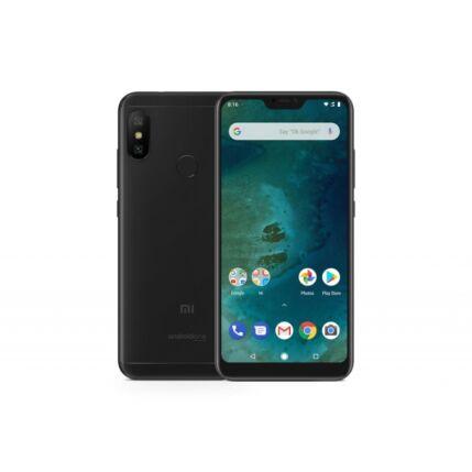 Mobiltelefon, Xiaomi A2 Lite (Redmi 6 pro) Dual Sim 64GB kártyafüggetlen, 6 hónap garancia, fekete