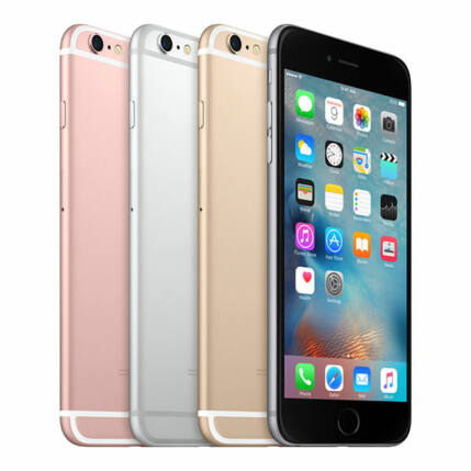 Mobiltelefon, Apple iPhone 6S Plus 32GB használt, kártyafüggetlen, 1 hónap garancia, rose gold