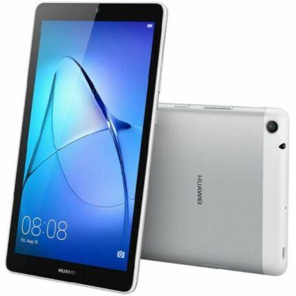 Mobiltelefon, Huawei Mediapad T3 7.0 Wifi 16GB Tablet PC, 1 év garancia, ezüst