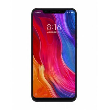 Mobiltelefon, Xiaomi MI8 Dual Sim 64GB Kártyafüggetlen, 6 hónap garancia, fekete