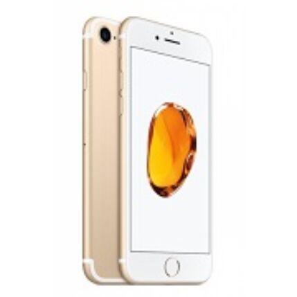 Mobiltelefon, Apple iPhone 7 128GB, kártyafüggetlen, 1 év garancia, arany