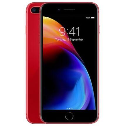 Mobiltelefon, Apple iPhone 8 Plus 64GB kártyafüggetlen, 1 év garancia, piros