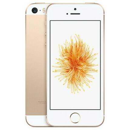 Mobiltelefon, Apple iPhone SE 32GB, Kártyafüggetlen, 1 év garancia, arany