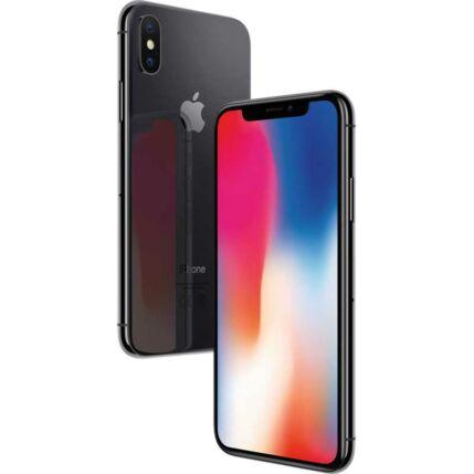 Apple iPhone X 64GB, (Kártyafüggetlen 1 év garancia), Mobiltelefon, szürke