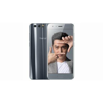 Mobiltelefon, Huawei Honor 9 64GB LTE DualSim, kártyafüggetlen, 1+1 év garancia, szürke