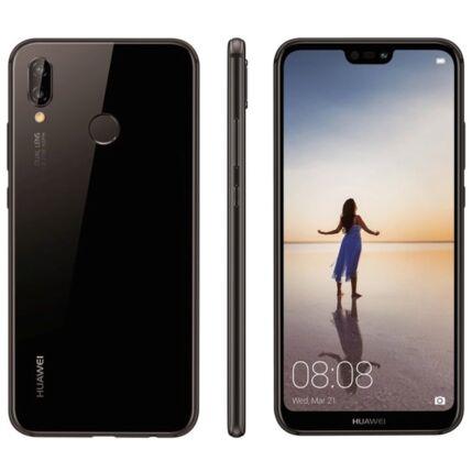 Huawei P20 Lite 64GB DualSim, (Kártyafüggetlen 1 év garancia), Mobiltelefon, fekete