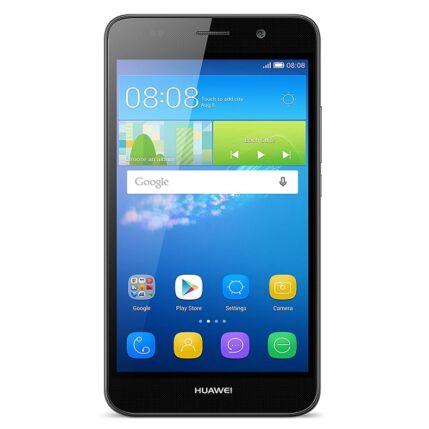Mobiltelefon, Huawei Y6, Kártyafüggetlen, 1+1 év garancia, fekete