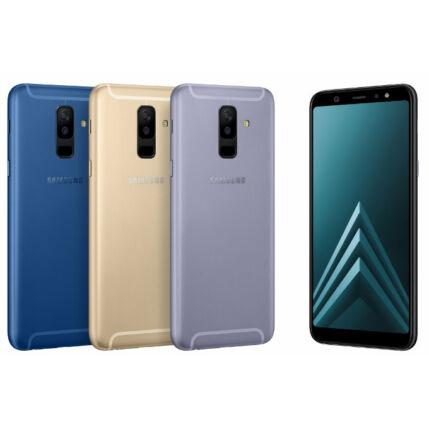Mobiltelefon, Samsung A600 Galaxy A6 32GB, Kártyafüggetlen, 1 év garancia, fekete