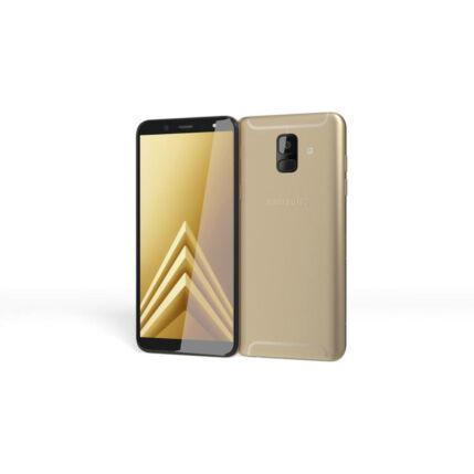 Mobiltelefon, Samsung A600 Galaxy A6 32GB DualSim, Kártyafüggetlen, 1 év garancia, arany