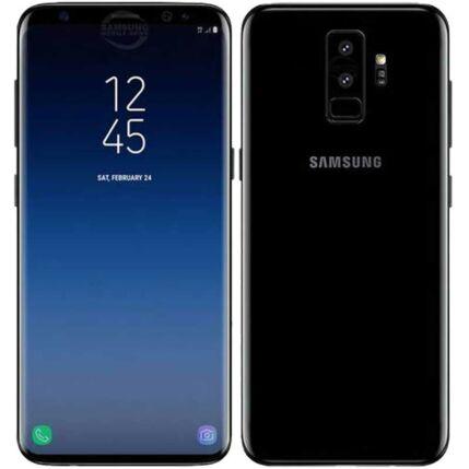Mobiltelefon, Samsung G965 Galaxy S9 Plus 256GB DualSim, kártyafüggetlen, 1 év garancia, fekete