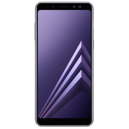 Mobiltelefon, Samsung A530F Galaxy A8 2018 32GB LTE DualSim, Kártyafüggetlen, 1+1 év garancia, szürke