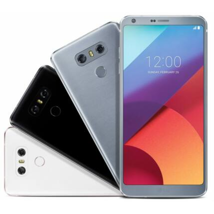 Mobiltelefon, LG H870 G6 32GB Kártyafüggetlen, 1+1 év garancia, platinum
