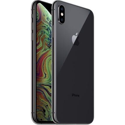 Apple iPhone XS Max 512GB, (Kártyafüggetlen 1 év garancia), Mobiltelefon, szürke