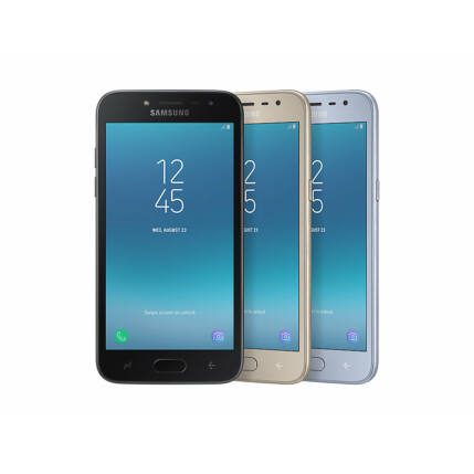 Mobiltelefon, Samsung J250Y Galaxy J2 DualSim, Kártyafüggetlen, 1+1 év garancia, arany