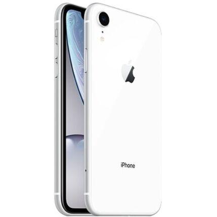 Mobiltelefon, Apple iPhone XR 128GB, Kártyafüggetlen, 1év garancia, fehér