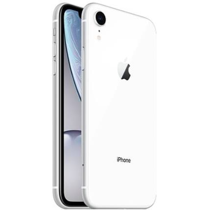 Apple iPhone XR 128GB, (Kártyafüggetlen 1 év garancia), Mobiltelefon, fehér