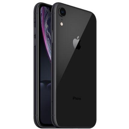 Mobiltelefon, Apple iPhone XR 64GB, Kártyafüggetlen, 1év garancia, fekete
