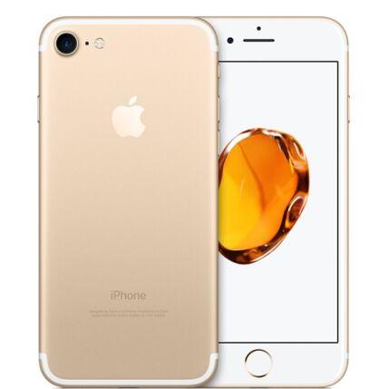 Mobiltelefon, Apple iPhone 7 128GB Preowned, kártyafüggetlen, 1 év garancia, arany
