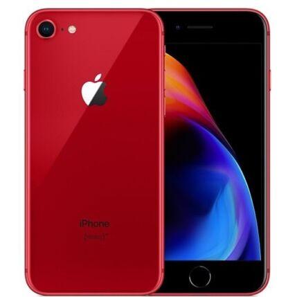 Mobiltelefon, Apple iPhone 8 256GB kártyafüggetlen, 1 év garancia, piros