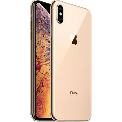 Mobiltelefon, Apple iPhone XS Max 64GB, Kártyafüggetlen, 1év garancia, arany
