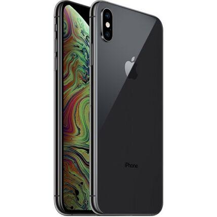 Mobiltelefon, Apple iPhone XS Max 64GB, Kártyafüggetlen, 1év garancia, szürke