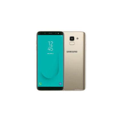 Mobiltelefon, Samsung J600F Galaxy J6 32GB DualSim, Kártyafüggetlen, 1 év garancia, arany