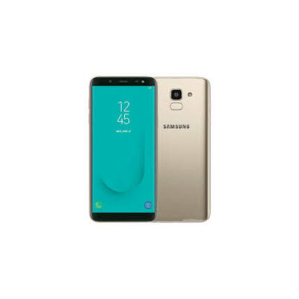Samsung J600F Galaxy J6 32GB DualSIM, (Kártyafüggetlen 1 év garancia), Mobiltelefon, arany