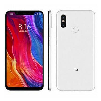 Xiaomi MI8 DualSIM 64GB, (Kártyafüggetlen 1 év garancia), Mobiltelefon, fehér
