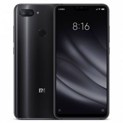 Xiaomi Mi 8 Lite 128GB DualSIM, (Kártyafüggetlen 1 év garancia), Mobiltelefon, fekete