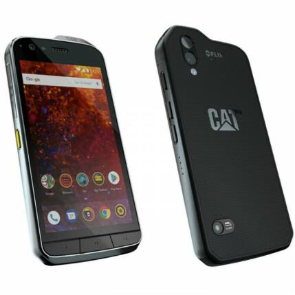 Caterpillar S61 64GB DualSIM, Mobiltelefon, fekete