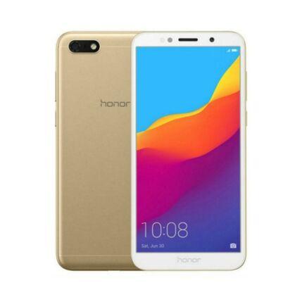 Huawei Honor 7S 16GB DualSIM, (Kártyafüggetlen 1 év garancia), Mobiltelefon, arany