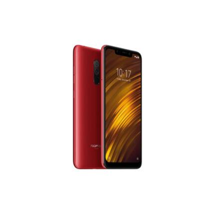 Xiaomi PocoPhone F1 64GB DualSIM, (Kártyafüggetlen 1 év garancia), Mobiltelefon, piros