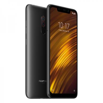 Xiaomi PocoPhone F1 64GB DualSIM, Mobiltelefon, fekete