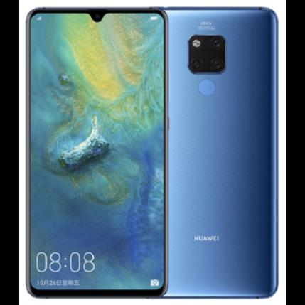Huawei Mate 20 128GB, (Kártyafüggetlen 1 év garancia), Mobiltelefon, kék