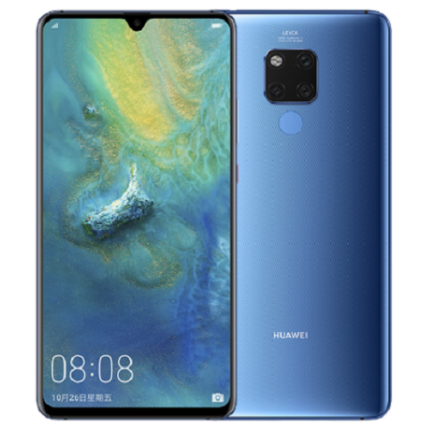 Huawei Mate 20 128GB 4GB Ram, Mobiltelefon, kék