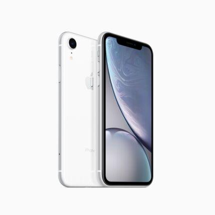 Mobiltelefon, Apple iPhone XR 256GB, Kártyafüggetlen, 1év garancia, fehér