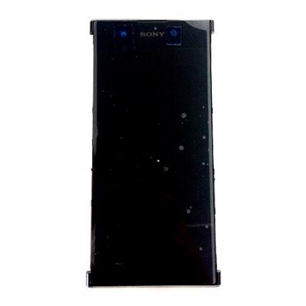 LCD kijelző, Sony Xperia XA1 Plus DualSim G3412 érintőplexivel és előlappal, fekete