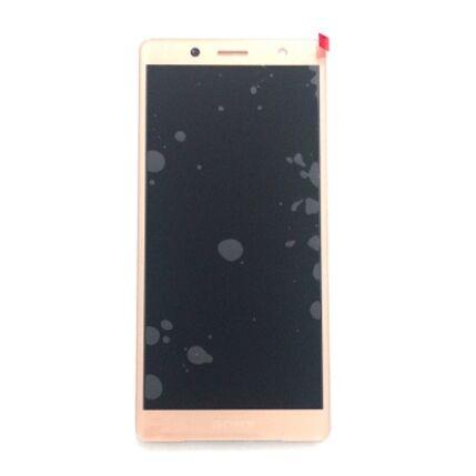 LCD kijelző, Sony Xperia XZ2 Compact H8314, Xperia XZ2 Compact Dual H8324 érintőplexivel, rózsaszín