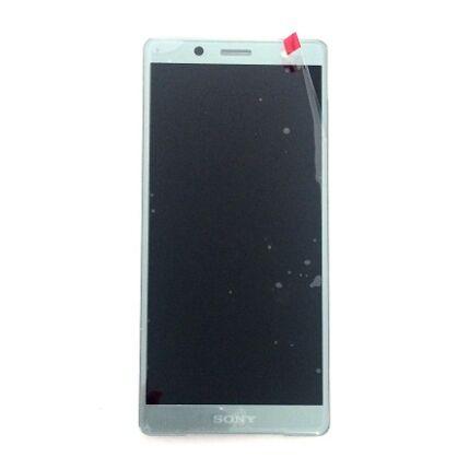 LCD kijelző, Sony Xperia XZ2 Compact H8314, Xperia XZ2 Compact Dual H8324 érintőplexivel, zöld