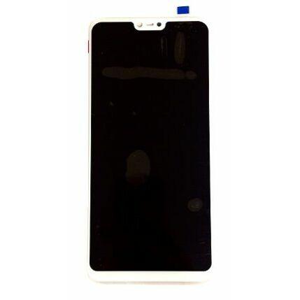 LCD kijelző, Xiaomi Mi8 Lite  érintőplexivel, fehér