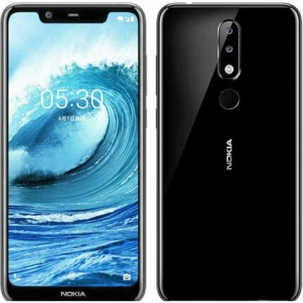 Nokia 5.1 Plus 32GB, (Kártyafüggetlen 1 év garancia), Mobiltelefon, fekete