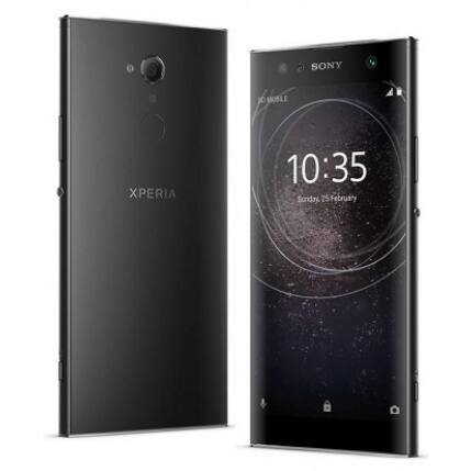 Mobiltelefon, Sony Xperia XA2 Plus H4413 32GB kártyafüggetlen, 1 év garancia, fekete