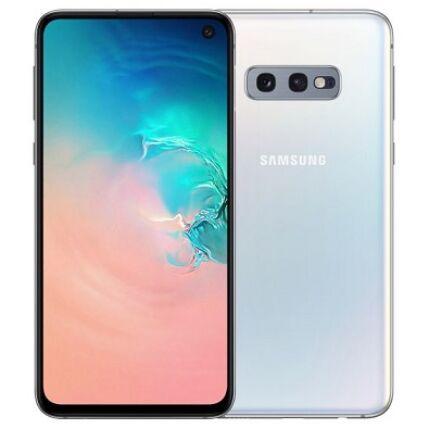 Samsung G970 Galaxy S10E 128GB DualSIM, (Kártyafüggetlen 1 év garancia), Mobiltelefon, fehér