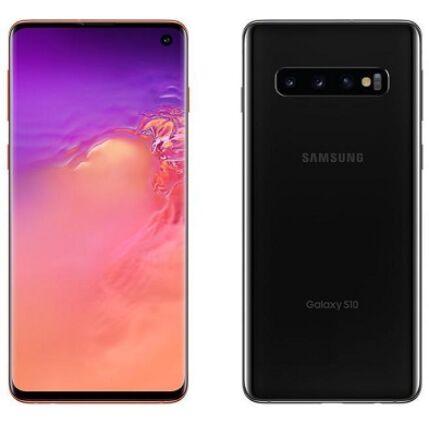Mobiltelefon, Samsung G973F Galaxy S10 DualSim 512GB kártyafüggetlen, 1 év garancia, fekete