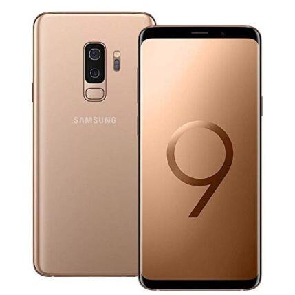 Mobiltelefon, Samsung G965 Galaxy S9 Plus 64GB kártyafüggetlen, 1+1 év garancia, arany