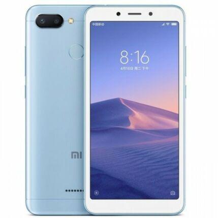Mobiltelefon, Xiaomi Redmi 6 32GB Dual Sim kártyafüggetlen, 1 év garancia, kék