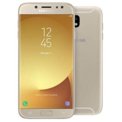 Mobiltelefon, Samsung J730F Galaxy J7 2017 LTE 16GB DualSim, Kártyafüggetlen, 1 év garancia, arany